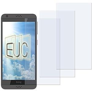 3 x Displayschutzfolie klar/wie unsichtbar für HTC Desire 530