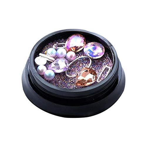 Quaan Diamanten Blendend Tipps Nagel Aufkleber Pailletten Bunt Nagel Kunst Dekoration