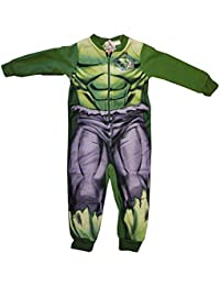 Official Marvel Avengers Incredible Hulk Onesie Childrens Size 2-3 Years