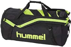 Sac à dos de sport hummel technical taille m = l :  55 x 28 cm (noir vert)