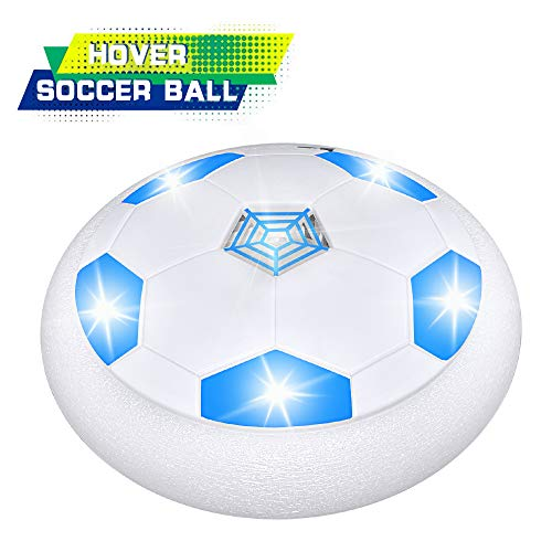 SOKY Fußball Spielzeug Junge 4-12 Jahre, Schweben Sie Fußball Mit LED-Leuchten Fußball Spiele Neu Geschenke für Jungen Mädchen 4-12 Jahre Spielzeug für Kinder 4-12 Jahre
