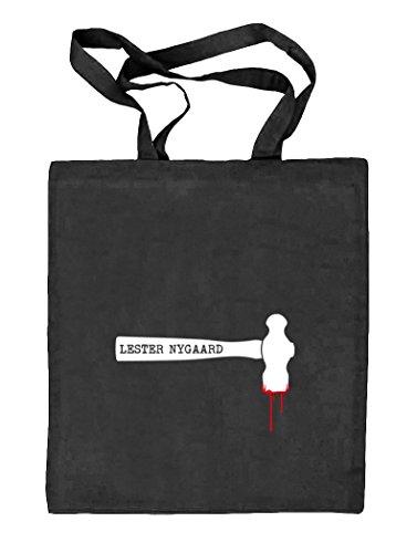 Shirtstreet24, Lester Hammer, Nature Juta Bag In Tessuto Naturale (taglia Unica) Natura Nera