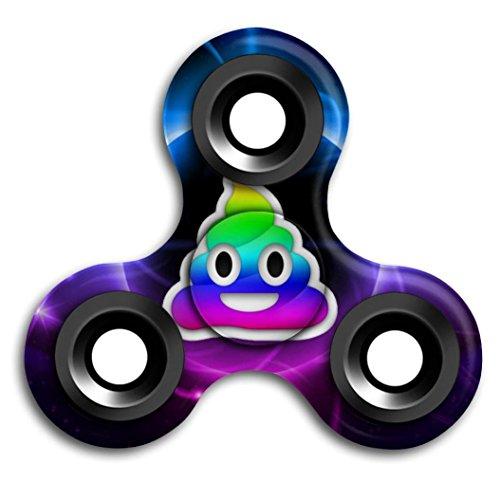 Preisvergleich Produktbild Saingace Emoji Fidget Hand Tri-Spinner Stress Relief Manipulative Spielen Pädagogisches Spielzeug