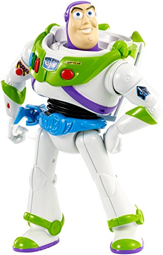 Mattel Disney/Pixar Toy Story 4 Buzz with Belt and Grapnel Figure by