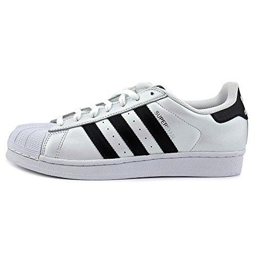 Adidas Superstar Foundation, Sneakers Unisex Adulto White