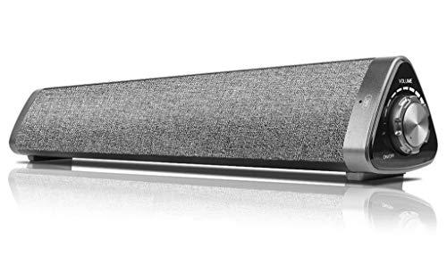 GT Soud Bar Für PC Soundbar 2.0-Kanal-Surround-Sound Kabelgebundene, Kabellose Bluetooth-Basslautsprecher Mit Fernbedienung