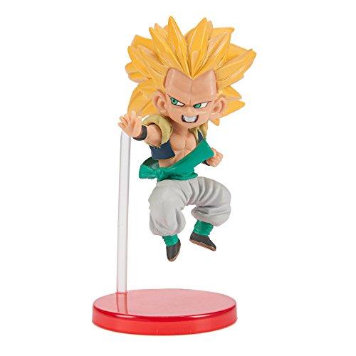 Dragon Ball Z World Collectable Figuras SS3 Gotenks Chibi PVC Figura