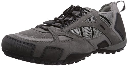 Geox UOMO SNAKE C Herren Sneakers Grau (GREYC1006)