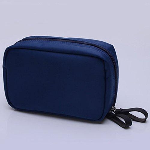 Mesh-kupplung (TaoMi Homw- Reise-Kosmetik-Beutel-bewegliche große Kapazitäts-Kupplungs-Minikosmetik-Beutel-kleine wasserdichte Wäsche-Beutel ( Farbe : Rotwein ))