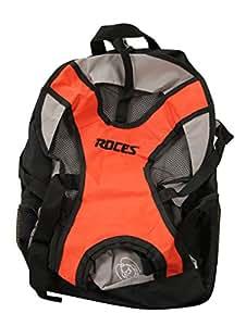 Roces Inlineskates Rucksack, Red/Grey, 40 x 13 x 28 cm, 14 Liter, 30254-003