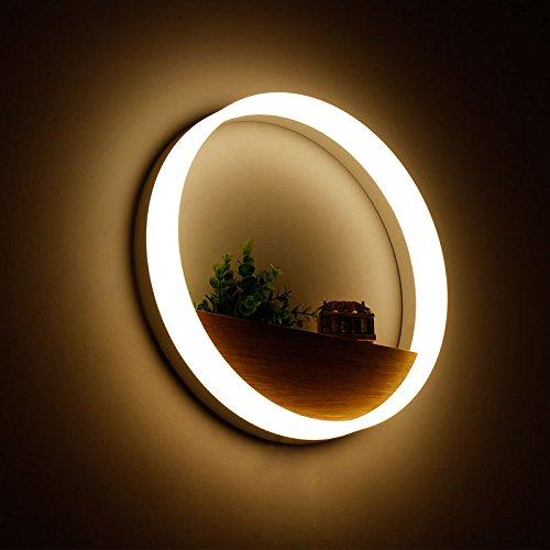 YYHAOGE Salon Wall Lamp, Lampe Murale À Led Circulaire, Couloir Circulaire, Chambre, Chevet, Lampe Murale,Grand Diamètre 40 Cm - 25W