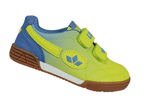 Lico Bernie V, Chaussures de Fitness mixte adulte Gelb (Lemon/Blau)