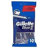 Auslaufmodell Gillette BlueII Einwegrasierer für Männer, 2er pack ( 2 x 10 Stück )