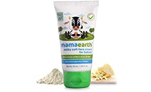 Mamaearth Milky Soft Natural Baby Face Cream for Babies 50mL