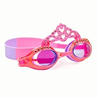 The Sparkle Club Children pink princess sparkly swimming goggles by Bling2O