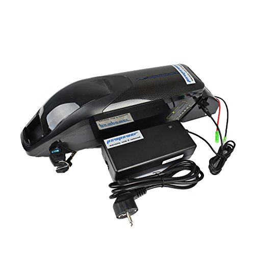 Pswpower EU n. imposta 36 V 14.5 Ah Li-Ion batteria bicicletta elettrica da ciclista e fatta di Samsung INR18650 - 29E Fits 36 V 500 W motore (Germany magazzino) (PXL-HX-36145-SA)