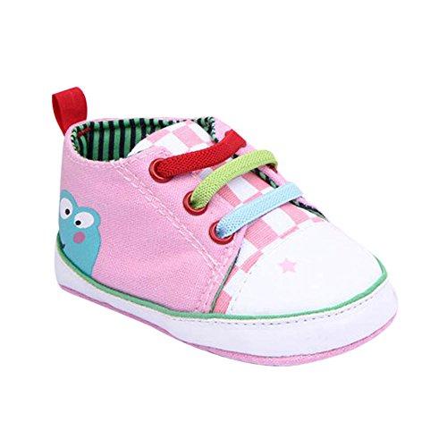 Xiangze bebe nino nina suave cordon suela lona zapatos