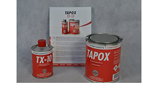 1 Set Fertan Tapox 2 Komponenten Epoxy Tankversiegelung Tank Rost Auto Motorrad Tankbeschichtung Innenbeschichtung Tankrestaurierung Auto