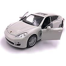 H-Customs Welly Coche modelo Porsche Panamera S Auto PRODUCTO LICENCIADO 1: 34-