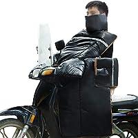 Motorcycle windproof quilt Colcha a Prueba de Viento de la Motocicleta, Parabrisas, anticongelante y Calor, Equipamiento para Montar (Color)