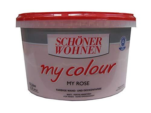 SCHÖNER WOHNEN,Wandfarbe my colour »my rose«,5 Liter