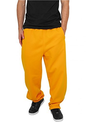 Urban Classics Herren Sport Jogger Sweatpants Orange
