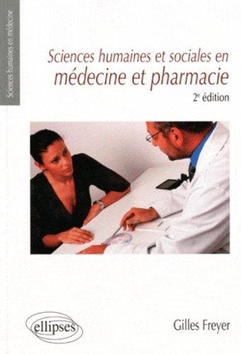 Sciences humaines et sociales en médecine et pharmacie