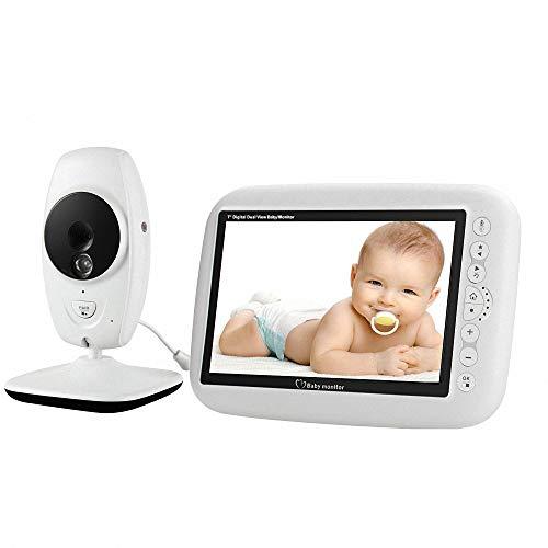 Miarui Vigilabebes Vigila Bebes con visión Nocturna Vigilabebés Inalambrico Bebé Monitor Inteligente...