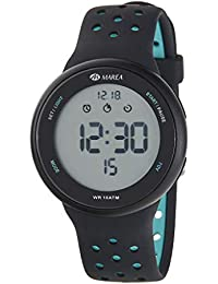 Reloj Marea Digital Hombre B44098 7 Correa Silicona Negro y Turquesa 4ccf70830e3a