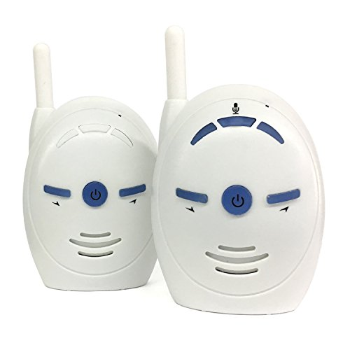 SODIAL V20 Baby sitter portatile 2.4GHz Baby Monitor Audio Digital Voice Broadcast Doppia conversazione Walkie-talkie (spina europea)