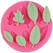 Nikgic Baum Blätter Fondant Kuchenform Antihaft Schokolade Pudding Muffin Form Ausstecher Für DIY Backenwerkzeuge Zubehör