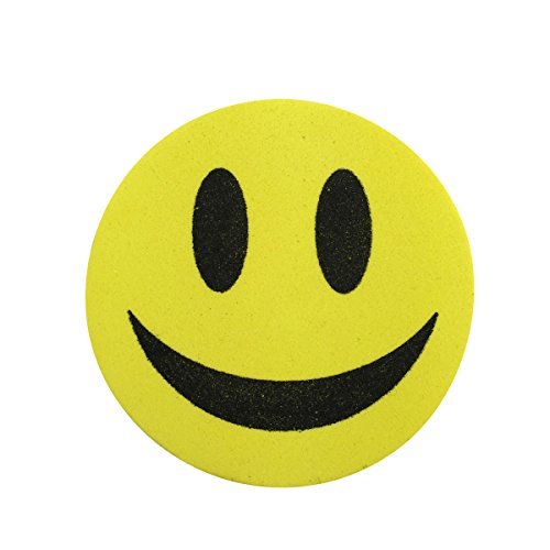magnetic-eraser-yellow-smiley-face-whiteboard-dry-wipe-white-board-marker-rubber-cleaner-new-uk-sell