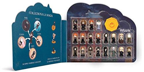 Colección Completa 20figuras + Castillo de Hogwarts wizzis 2017Harry Potter esselunga Gadget Mini Figures collezionabili sorpresine Rowling Disney