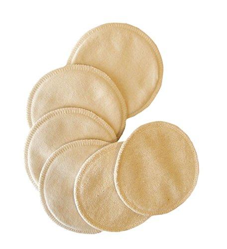 Popolini - 100% coton bio (6) d'allaitement Coussinets d'allaitement réutilisables allaitement 020606-07