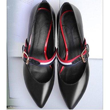 SANMULYH Scarpe Donna Primavera Autunno Comfort Tacchi Stiletto Heel Per Casual Nero Rosa Nero