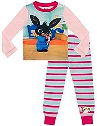 ThePyjamaFactory Girls CBeebies Bing Pyjamas Bing and Hoppity PJS
