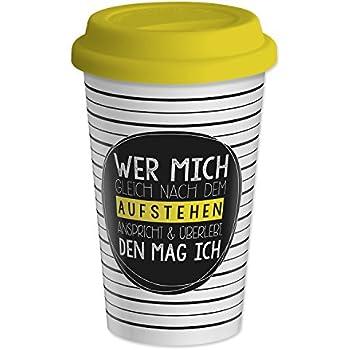 MUSTARD - Coffee Dog Cup I Kaffee-to-Go Becher mit Silikon