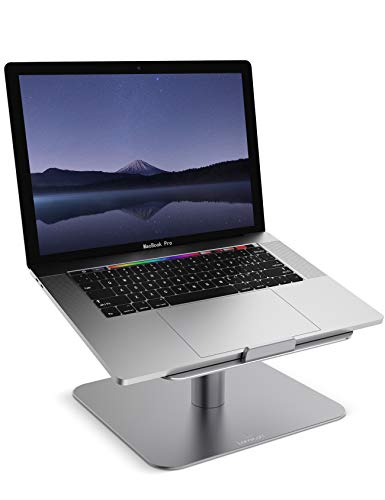 """Lamicall Laptop Ständer, Multi-Winkel Notebook Ständer : Universal Halter, Halterung, Stand, Dock für Dell, HP, Samsung, Lenovo andere 10\""""~17\"""" Notebooks - Grau"""