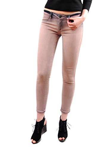 di Siwy donne denim HANNAH Alba jeans slim Crop Celeb sguardo Beige Dimensione 26