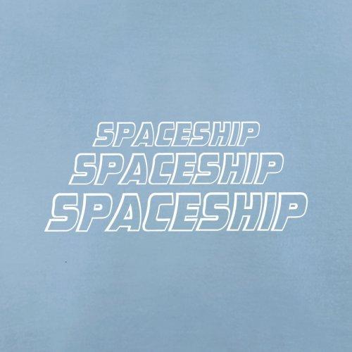 Space Ship - Herren T-Shirt - 13 Farben Himmelblau