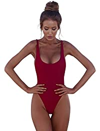 c3a82b77cc5 ZODOF Bañador 2019 Bikini Push Up Mujer Sin Respaldo Playa Bikinis  Brasileños Mujer con Relleno Bikinis