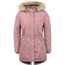 ONLY Paola Damen Winter Jacke Parka Mantel Winterjacke gefüttert mit Kapuze c02ad0e01a