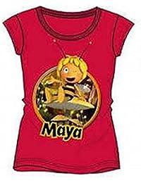 Camiseta T104cm Maya - La Abeja Maya rosa
