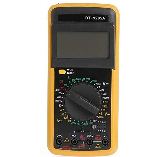 NINGXUE-MAOY Digitales PH-Messgerät Digital DT-9205A Multimeter-LCD-AC/DC-Amperemeter-Widerstand-Kapazitätsprüfer