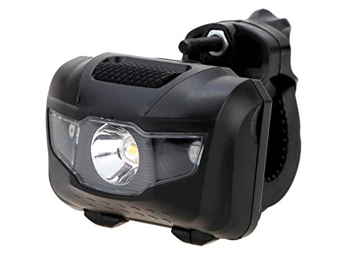 FOUGNOGKISSS Bike Lights Front and Back Bike Light Super Bright Front and Rear Bicycle Flashing Safety Warning Lamp (Black)