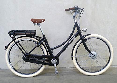 """Prophete Damen E-Bike 28\"""" Nostalgia e Elektrofahrrad schwarz matt RH 46cm"""