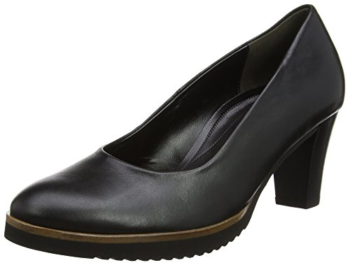 Gabor Shoes Damen Comfort Fashion Pumps, Schwarz (Matt Finish), 40 EU