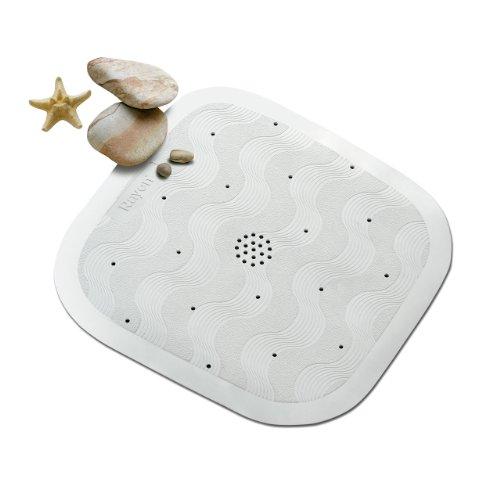 Rayen 2327 - Alfombra antideslizante para baño, de caucho, 54 x 54 cm
