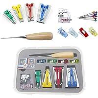 GGHKDD - Kit de cinta bies para el hogar, juego de herramientas de costura