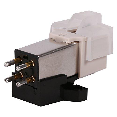 Nadeln Ersatz Plattenspieler Plattenspieler Nadeln bewegliche Magnetkartusche mit Befestigungsschrauben für Phonograph Internationaler Austausch